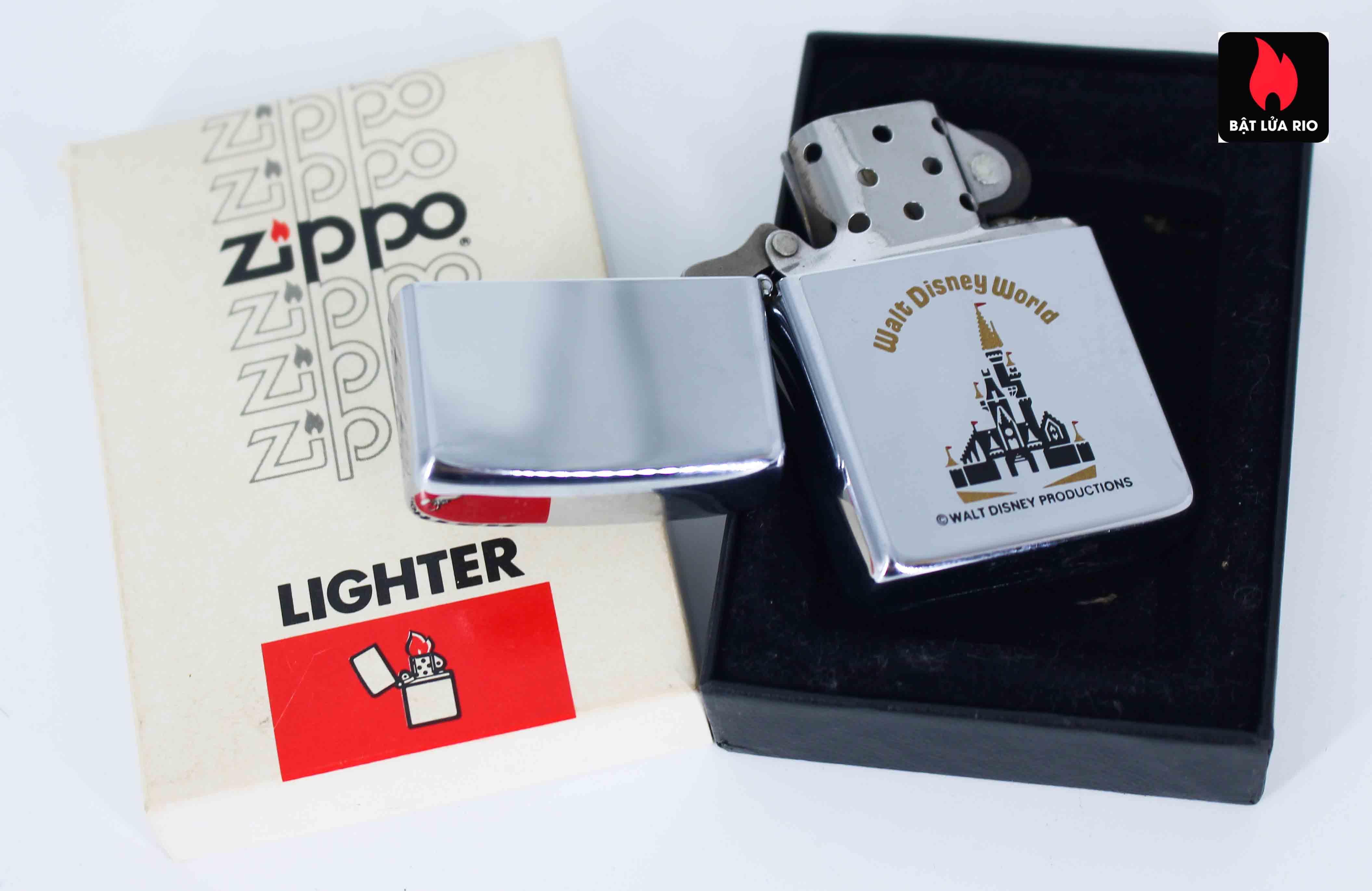 Zippo Xưa 1982 - Walt Disney World 2