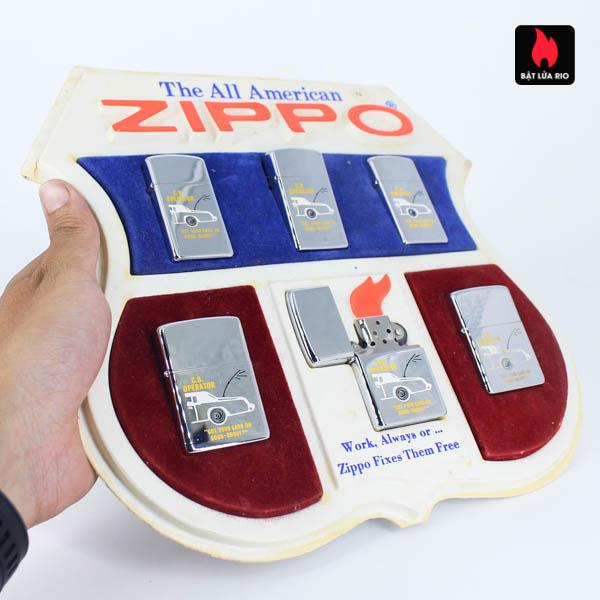 Set Zippo 1976 - C.B Operator 1