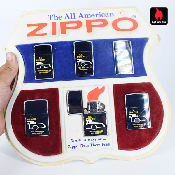 Set Zippo 1976 - C.B Operator 2