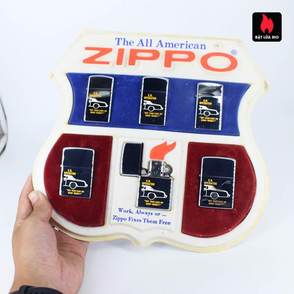 Set Zippo 1976 - C.B Operator 4