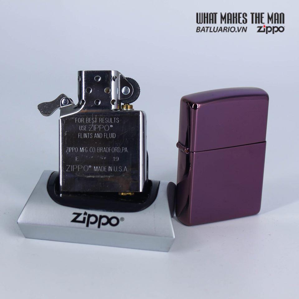 Zippo 24747 - Zippo High Polish Purple 7