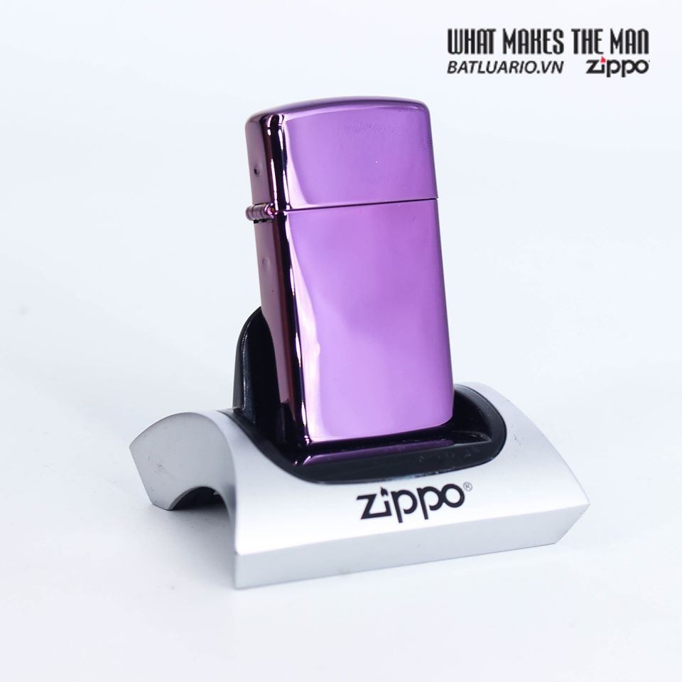 Zippo 28124 - Zippo Slim® High Polish Purple 1