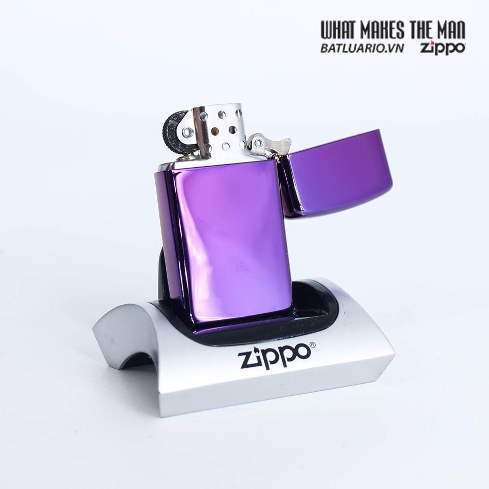 Zippo 28124 - Zippo Slim® High Polish Purple 3