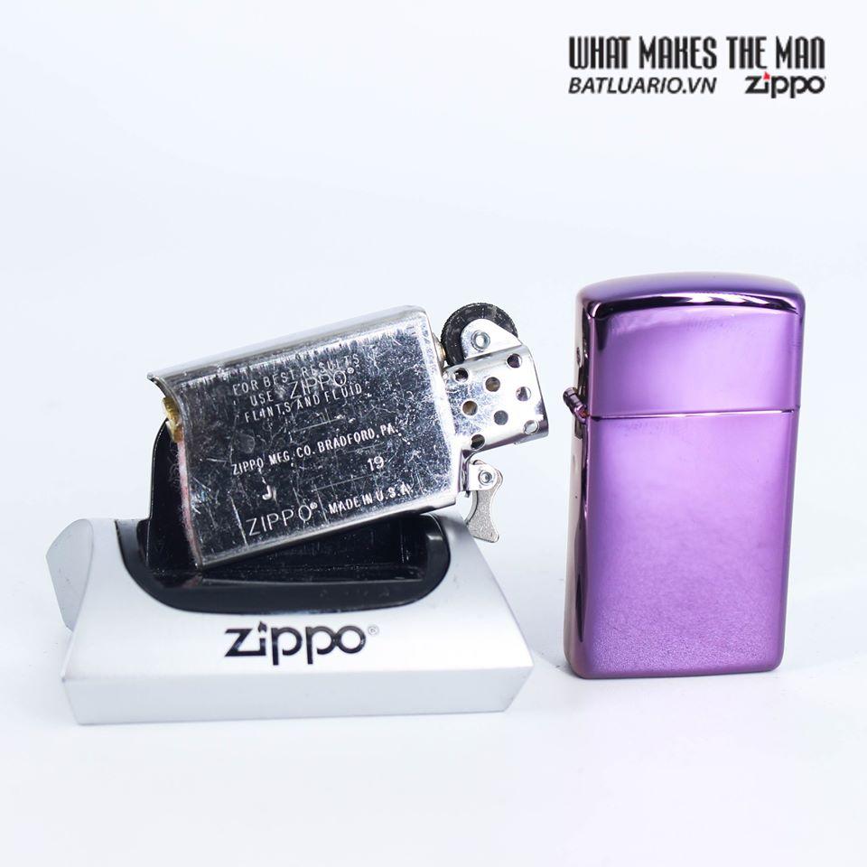 Zippo 28124 - Zippo Slim® High Polish Purple 6