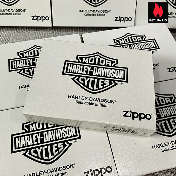 Zippo 49176 - Zippo Harley-Davidson® 2020 Collectible Armor Black Matte 5