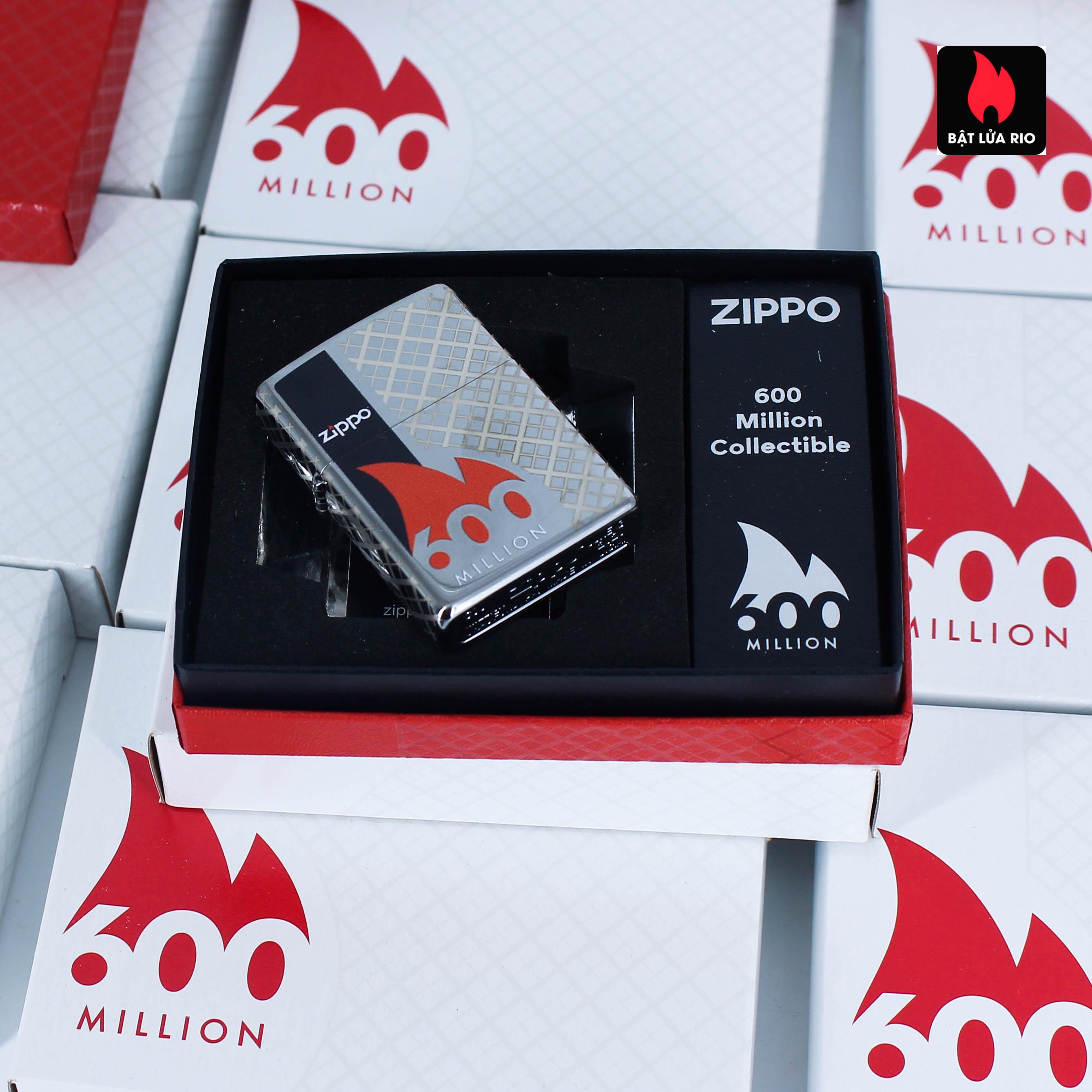 Zippo 600 Millionth Collectible - Zippo 49272 41