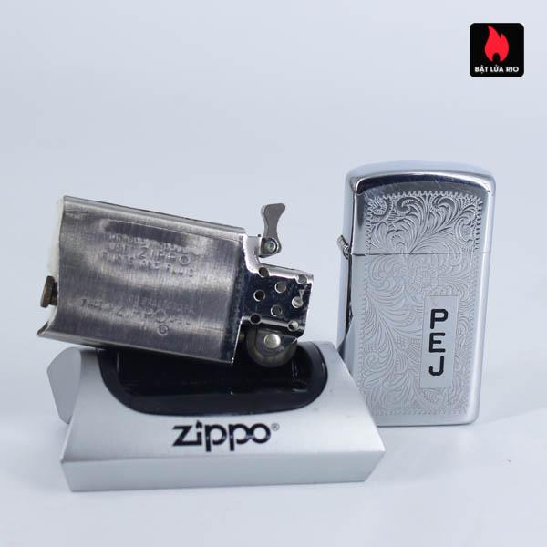 Zippo Slim 1975 - Venetian - P.E.J 6