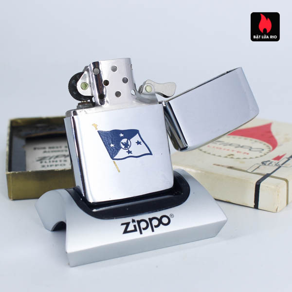 Zippo Xưa 1967 - 25th Anniversary Battle Of The Coral Sea - Chief Of Naval Operations 10