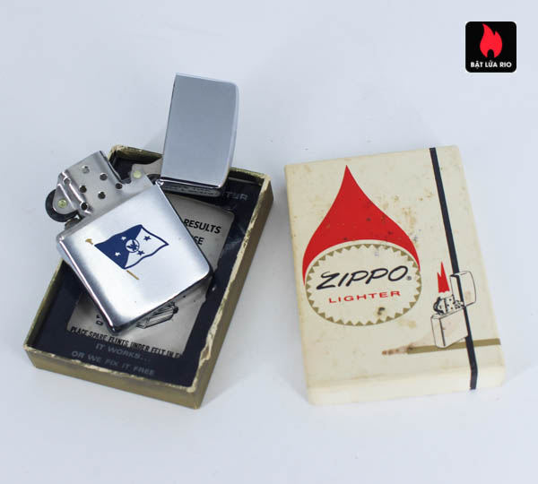 Zippo Xưa 1967 - 25th Anniversary Battle Of The Coral Sea - Chief Of Naval Operations 4