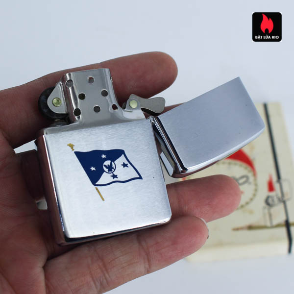 Zippo Xưa 1967 - 25th Anniversary Battle Of The Coral Sea - Chief Of Naval Operations 7