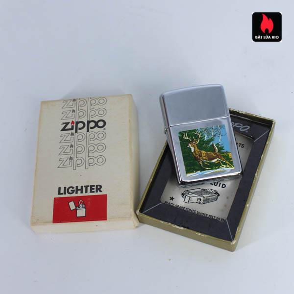 Zippo Xưa 1967 - Town & Country - Running Deer 2