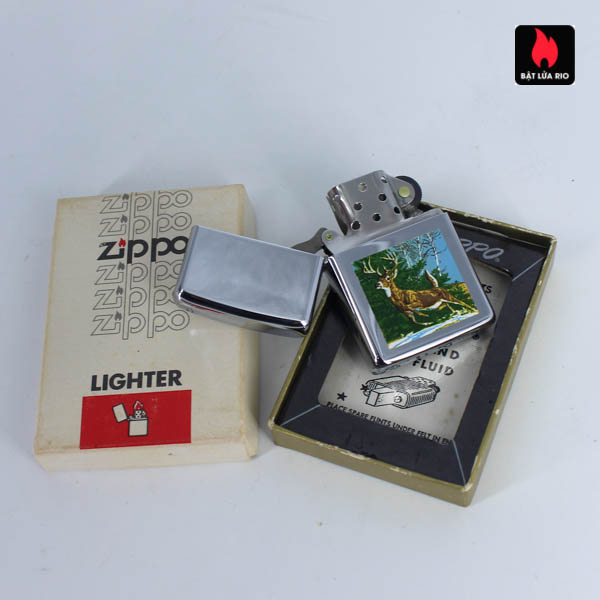 Zippo Xưa 1967 - Town & Country - Running Deer 3