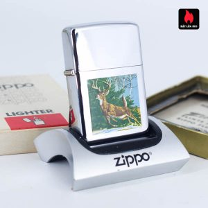 Zippo Xưa 1967 - Town & Country - Running Deer