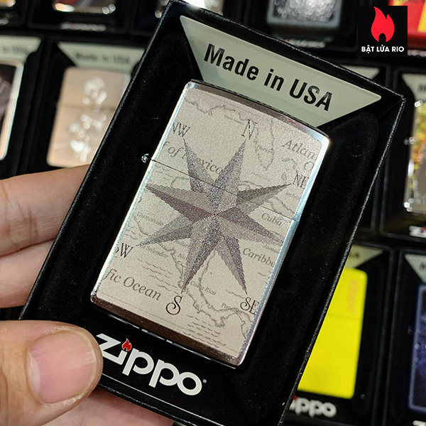 Zippo 200 Vintage Maps