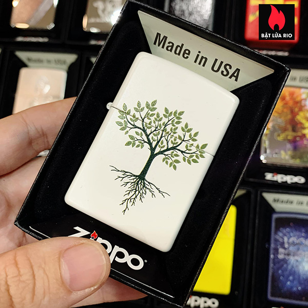 Zippo 214 Tree With Roots