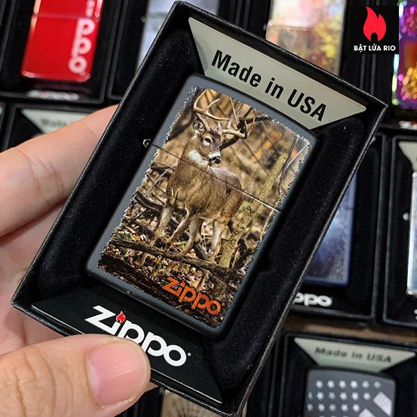 Zippo 218 Buck In Forest