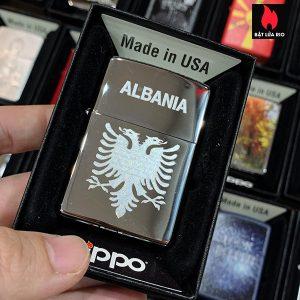Zippo 250 Albania Coat Of Arms