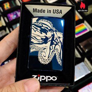 Zippo 20446 Octopus In Laser Design