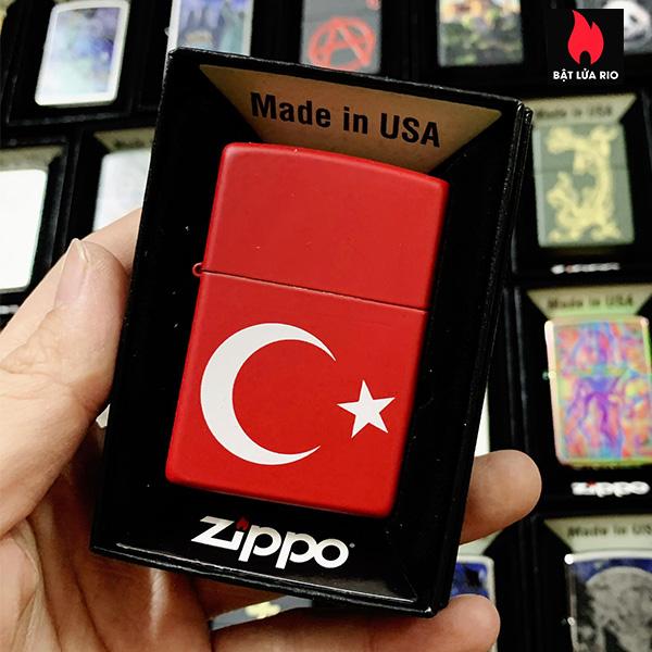 Zippo 233 Ataturk Turkey Flag