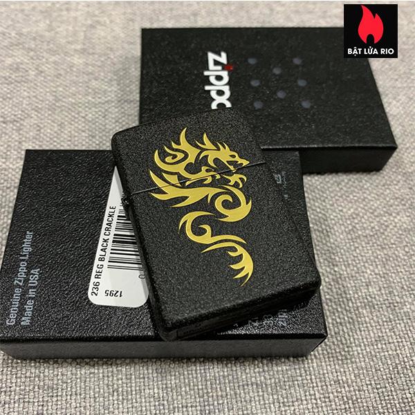 Zippo 236 Khắc Rồng 83 - Zippo 236.R83