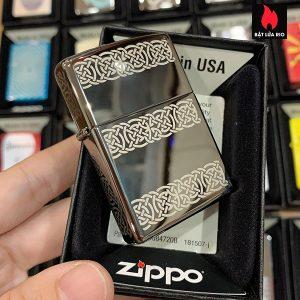 Zippo 150 Celtic Laser 5 Sides 1