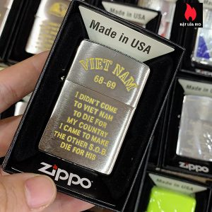 Zippo 200 Trench Art Country Design