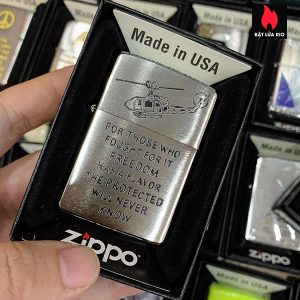 Zippo 200 Trench Art Freedom Design