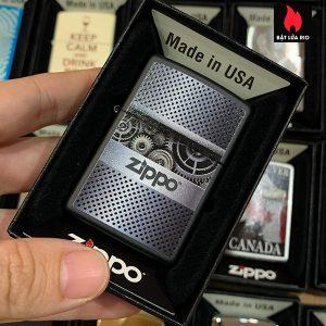 Zippo 218 Zippo Gears Design