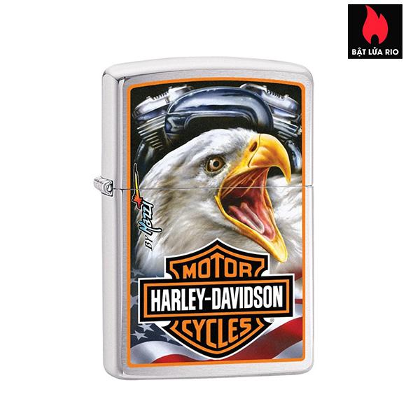 Zippo 29499 - Zippo Harley-Davidson®Mazzi Americana Eagle Brushed Chrome