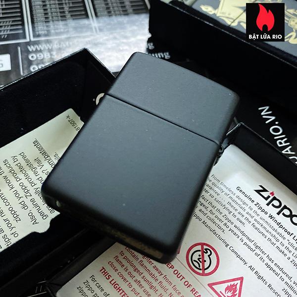 Zippo 49257 - Zippo Gambling Design Black Matte 5