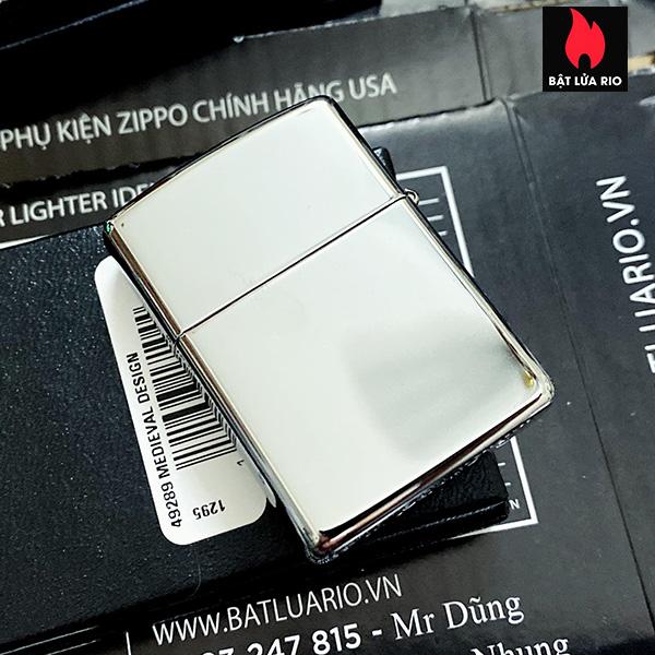 Zippo 49289 - Zippo Medieval Armor High Polish Chrome 3