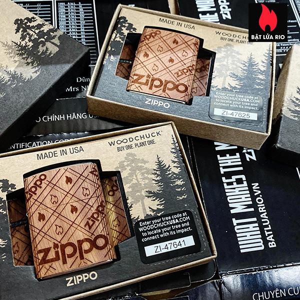 Zippo 49331 - Zippo WOODCHUCK USA Zippo Cedar Wrap 5