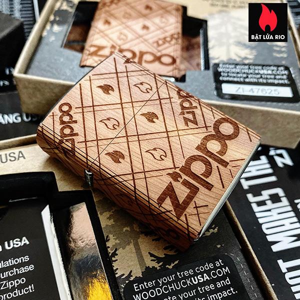 Zippo 49331 - Zippo WOODCHUCK USA Zippo Cedar Wrap 6