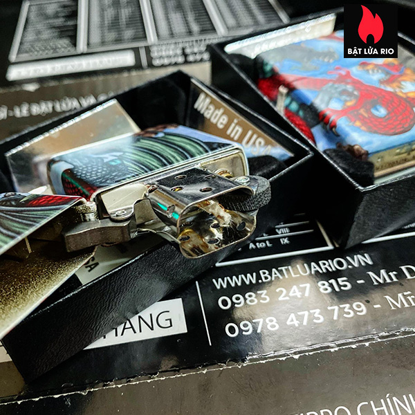 Zippo 49354 - Zippo Dragon 540 Color 9