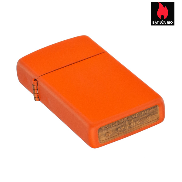 Zippo 1631 - Zippo Slim® Orange Matte 2