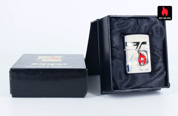 Zippo 2007 – 75th Anniversary Edition – China – Limited CHN 1 Of 3888 1