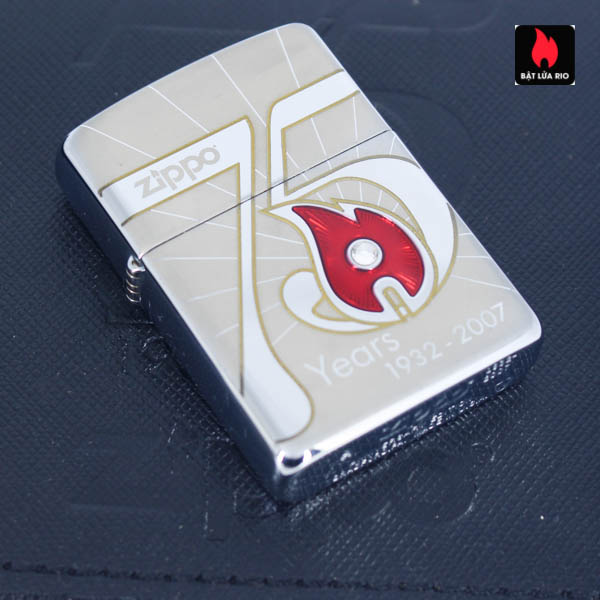 Zippo 2007 – 75th Anniversary Edition – China – Limited CHN 1 Of 3888 2