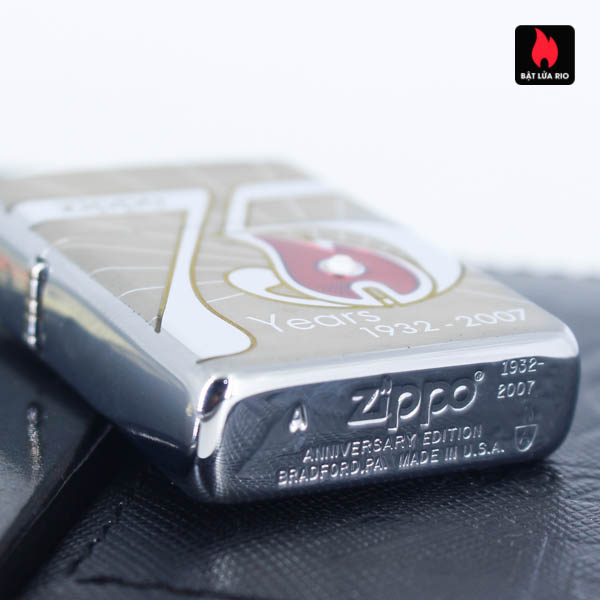 Zippo 2007 – 75th Anniversary Edition – China – Limited CHN 1 Of 3888 6