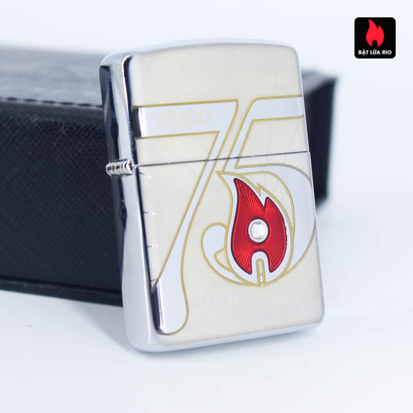 Zippo 2007 – 75th Anniversary Edition – China – Limited CHN 1 Of 3888