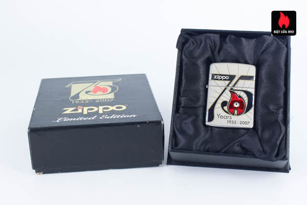 Zippo 2007 – 75th Anniversary Edition – Korea – Limited KOR 1 Of 3500 1