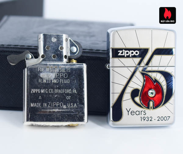 Zippo 2007 – 75th Anniversary Edition – Korea – Limited KOR 1 Of 3500 7