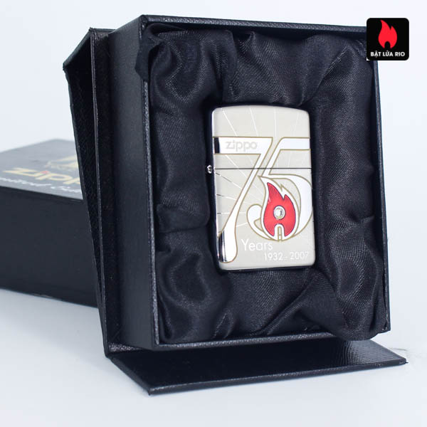 Zippo 2007 – 75th Anniversary Edition – Korea – Limited KOR 1 Of 3500