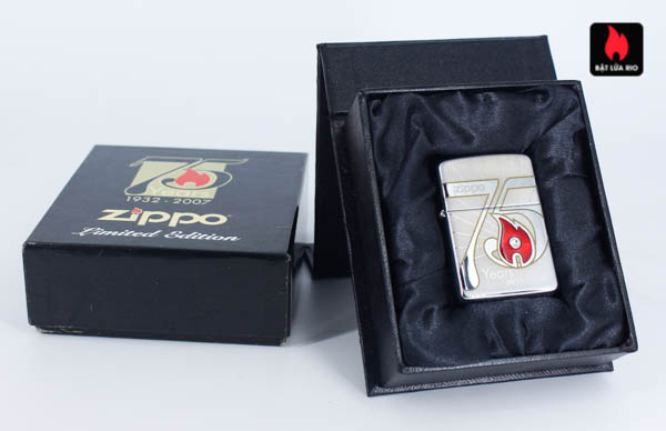 Zippo 2007 – 75th Anniversary Edition – Slovakia – Limited SVK 1 Of 50 1