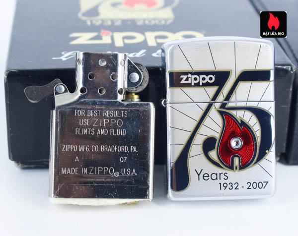 Zippo 2007 – 75th Anniversary Edition – Slovakia – Limited SVK 1 Of 50 6