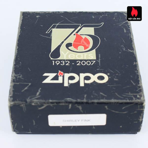 Zippo 2007 - Zippo 75th Commemerative - Employee - Shirley Fink 1