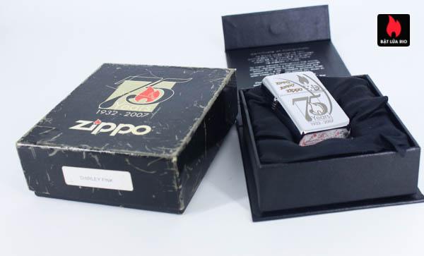 Zippo 2007 - Zippo 75th Commemerative - Employee - Shirley Fink 2