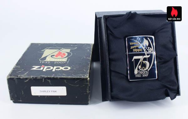 Zippo 2007 - Zippo 75th Commemerative - Employee - Shirley Fink