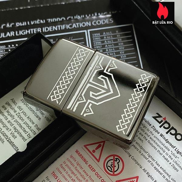 Zippo 49302 - Zippo Odin Design Black Ice® 6