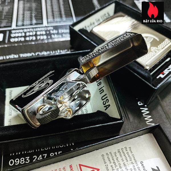 Zippo 49302 - Zippo Odin Design Black Ice® 9