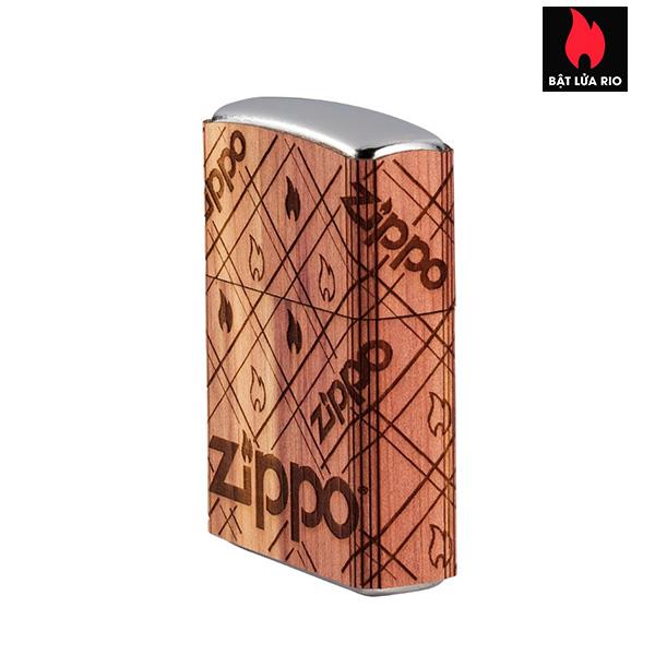 Zippo 49331 - Zippo WOODCHUCK USA Zippo Cedar Wrap 2